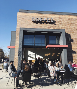 The Fount Morrisville coffee shop exterior